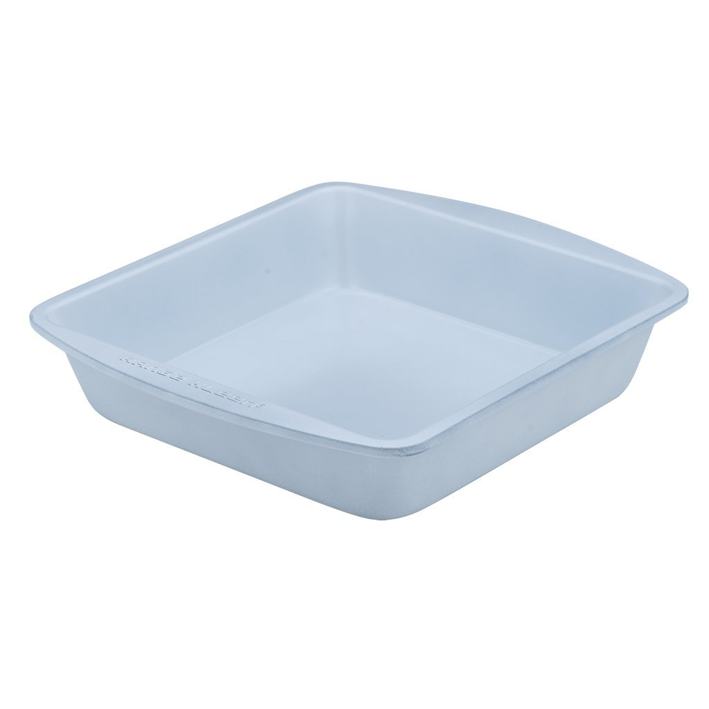 Range Kleen BC3000 White Square Cake Pan 8 Inches by 8 Inches by CeramaBake (Image #1)