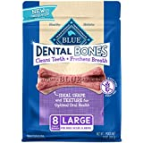 Blue Buffalo Dental Bones Natural Adult Dental Chew Dog Treats