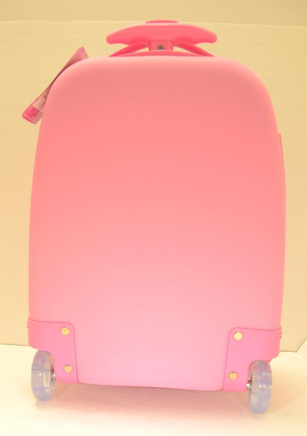 Pink Disney Princess Rolling Luggage