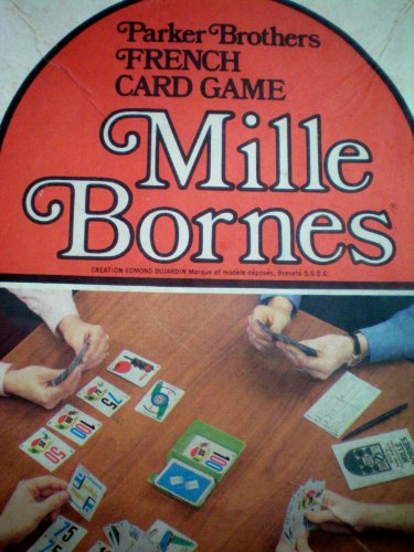 Parker Brothers French Card Game Mille Bornes ... Ages 8 to Adult by Parker Brothers