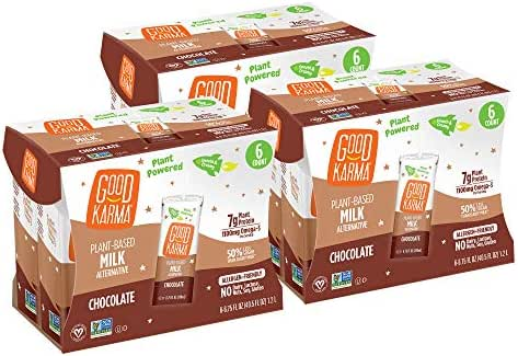 Shelf-Stable Milk: Good Karma Flaxmilk + Protein Boxes