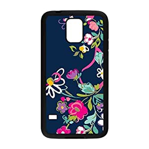 SKULL Elegant flowers Cell Phone Case for Samsung Galaxy S5 Kimberly Kurzendoerfer