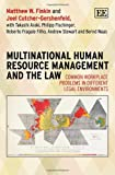 Multinational Human Resource Management and the Law, Matthew W. Finkin, 1781004110