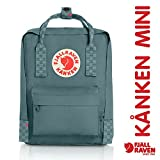 Kyпить Fjallraven - Kanken-Mini Classic Pack, Heritage and Responsibility Since 1960, Frost Green-Chess Pattern на Amazon.com