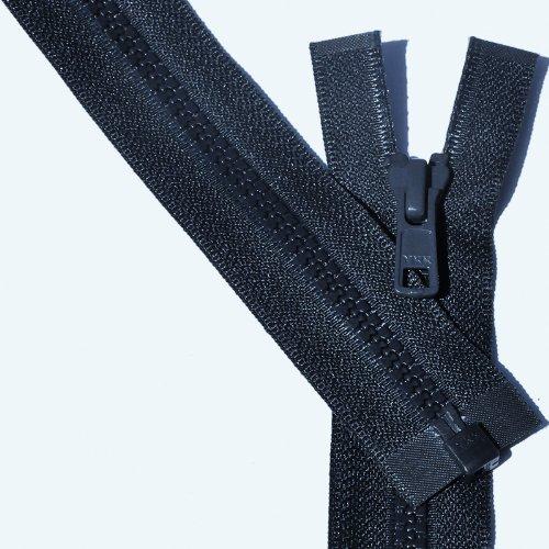 """24"""" Vislon Zipper ~ YKK #5 Molded Plastic ~ Separating - 560 Navy (3 Zippers / Pack)"""