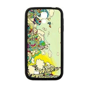 Creative Graffiti Town Hot Seller High Quality Case Cove For Samsung Galaxy S4