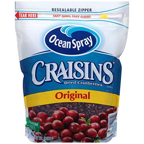 Ocean Spray Craisins Dried Cranberries Original (48 oz.) (Ocean Spray Dried Cranberries)