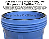 (3 Pack) Pentek, Pentair Water 151122 OEM Size Big Blue O-Ring Buna-N ORing by Captain O-Ring