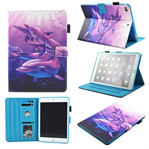 IPad Mini Case,Mini 2/3/4 Case Chgdss [Corner Protection] Auto Wake/Sleep Multi-Angle Viewing Folio Stand Cover/Card Slots for Apple iPad Mini 4/iPad Mini 3/iPad Mini 2/iPad Mini 1 - ()
