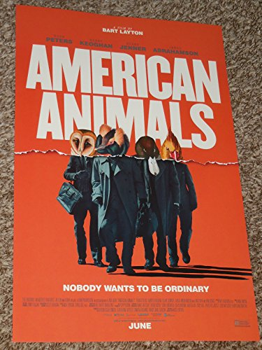 American Animals Poster 11X17 Inch Promo Movie Poster