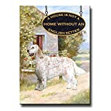 English Setter A House Is Not A Home Fridge Magnet No 1