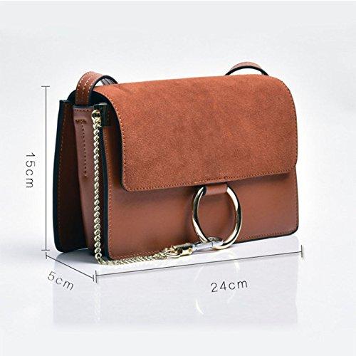 Grande Moda Donna Borse Capacità Casual Handbag Black Piccole Tracolla Per Capelli Polietilene Profumi Quadrate xtFZnZdw
