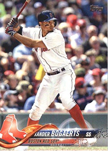 2018 Topps Baseball Series 2#502 Xander Bogaerts Boston Red Sox Official MLB Trading Card