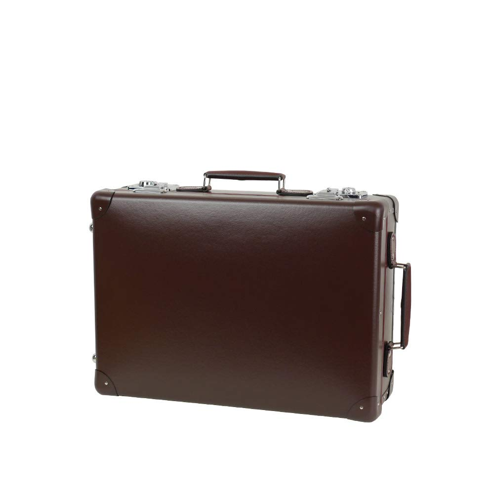 [グローブトロッター] GLOBETROTTER オリジナル 20インチ TROLLEY CASE スーツケース2輪 BROWN & BROWN [並行輸入品] B07M89GNBT