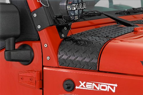 Warrior Products 920E Center Cowling Cover for Jeep JK and Unlimited 07-10