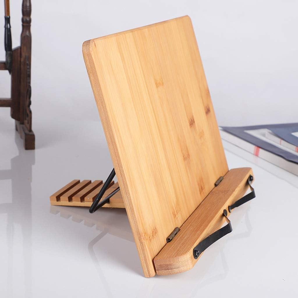 Desktop Bookshelf Bookshelf Adjustable Reading Rest Tablet Cook Home Study Room Book Holder Foldable Stand Pages Adjustable Countertop Bookcase