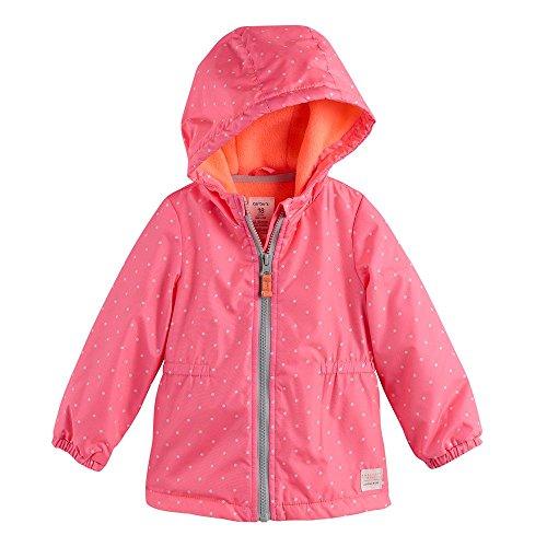 Carter's Baby Girls' Polka Dot Jacket (18 Months, Pink)