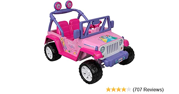 Power Wheels Disney Princess Jeep Wrangler
