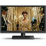 Panasonic TX-24ESW504 60 cm (24 Zoll) LCD Fernseher (HD ready, 600Hz bmr, Quattro Tuner, TV auf IP Client, USB Recording) schwarz