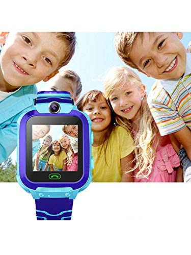 Detailorpin Children Smart Watch SOS Call Location Tracker Student Two-Way Voice Wristwatch