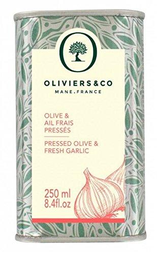 Oliviers & Co Olive & Garlic Oil, 8.4 FL OZ