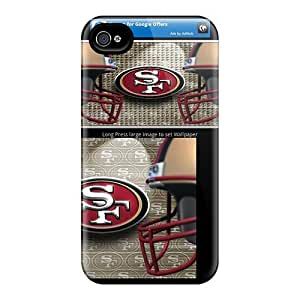 Premium Sxq1593GyJk Case With Scratch-resistant/ San Francisco 49ers Case Cover For Iphone 4/4s