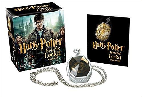 bf70db07 Amazon.com: Harry Potter Locket Horcrux Kit and Sticker Book (Miniature  Editions) (9780762441853): Running Press: Books