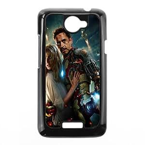 Iron Man SANDY0541967 Phone Back Case Customized Art Print Design Hard Shell Protection HTC One X