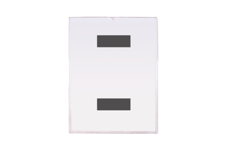 Clear 8.5 x 11 FFR Merchandising FFR 2202278010 TVM Tru-Vu Magnetic Sign Holder 8.5 x 11 Pack of 20