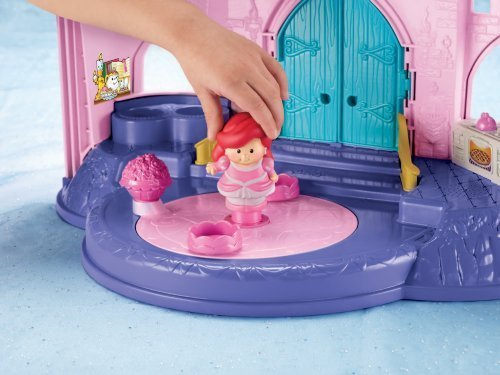 Fisher-Price Little People Disney 2 Pack: Ariel and Aurora Toy, Kids, Play, Children