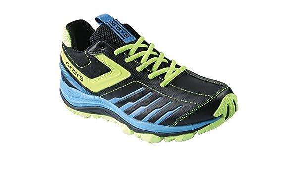 GRAYS G 8000 Zapatilla de Hockey Unisex, Negro/Lima, 45: Amazon.es: Zapatos y complementos