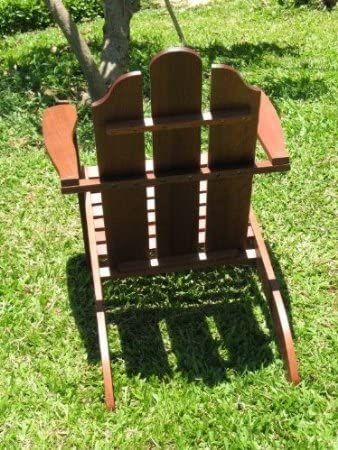 Pebble Lane Living Exclusive Eco Friendly Adirondack Chair and Ottoman