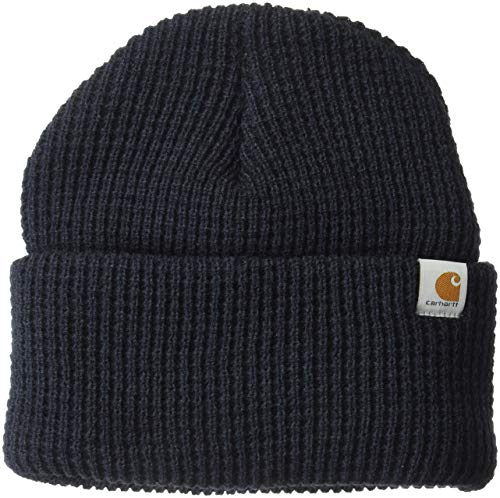 Carhartt Men's Woodside Acrylic Hat, Navy, One Size