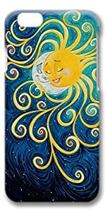 iPhone 6 Case, Custom Design Protective Covers for iPhone 6(4.7 inch) PC 3D Case - Sun Meet Moon
