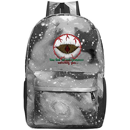 COBOBT Eye of Cthulhu Terraria Galaxy School Backpacks Bookbags Daypack Shoulder School Bag Laptop,Unisex Fashion Large Capacity Casual Travel Bag -