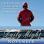Daily Might: November: A Reading for Each Day in November | Simon Peterson