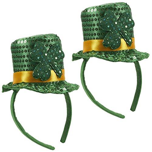 St. Patricks Headband - Set of 2 Decorative