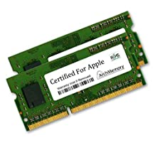 Certified for Apple Memory Module 4GB 1333MHz DDR3 (PC3-10600) \uff96 2x2GB SODIMMs MD018G/A