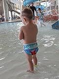 Babygoal Reusable Swim Diaper, One Size Adjustable