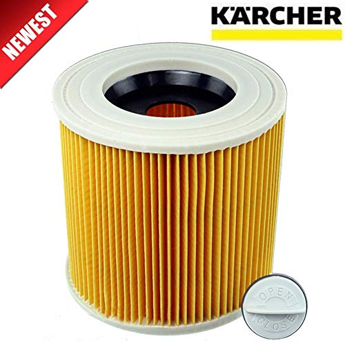 Price comparison product image Vacuum Cleaner Parts / quality replacement air dust filters bags for Karcher Vacuum Cleaners parts Cartridge HEPA Filter WD2250 WD3.200 MV2 MV3 WD3 / by AZUDAN