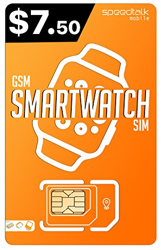 Padfender Smart Watch SiM Card | 3 in 1 SIM Card | GSM 2G 3G 4G LTE - Smartwatches, Kids Smartwatch and Wearables