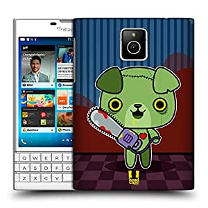 Head Case Designs Hungry Puppy Kawaii Zombies Hard Back Case for BlackBerry Q10