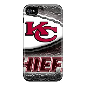 KennethKaczmarek Iphone 4/4s Protector Hard Phone Cover Allow Personal Design High Resolution Kansas City Chiefs Series [CBn2512SRVi]