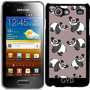 Funda para Samsung Galaxy S Advance (i9070) - Un Panda Sonriente by zorg