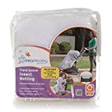 Dreambaby Insect Bug Netting for Strollers, Play Yards, Carriers, and Travel Systems (Travel System, 1 Pack)