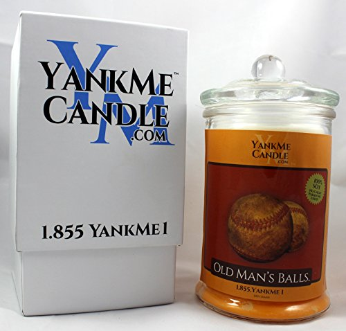 Yank Me Candle Old Man's Ball's Funny Candles ()