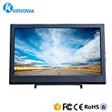 Kenowa 11.6 inch thickness is 25mm high resolution 19201081 display, AV/VGA/HDMI input, portable TFT LCD screen display screen, touch button, built-in speaker, for security camera.