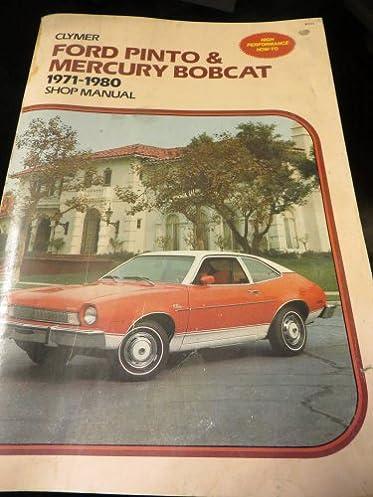 ford pinto \u0026 mercury bobcat, 1971 1980 shop manual alan ahlstrand Mitsubishi Galant Brake Diagram
