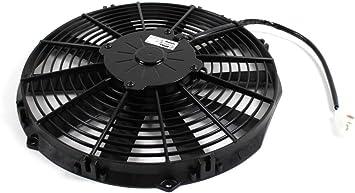 1047006 Spal ventilador 305 mm 335 mm 1470m3h Motorsport 12 V VR6 ...