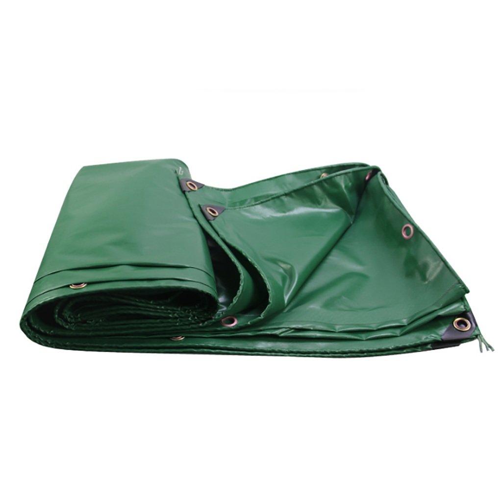 タータリン高強度厚いPVC防雨トラック区画貨物ヤードヤードテントクロス屋外0.35 mm 450 g/m2草の緑13サイズ (サイズ さいず : 2*2m) B07DCRGNFJ 2*2m  2*2m
